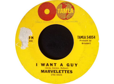Marvelettes I Want A Guy